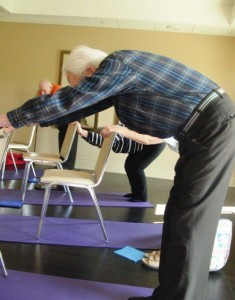 stretches and strengthening the health benefits of senior
