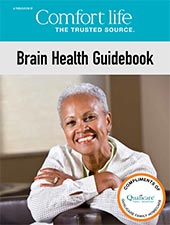 Brain Health Guidebook by Qualicare Cover